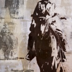 Forever West | 48 x 32 in | Available - Dick Idol Signature Gallery, Whitefish MT