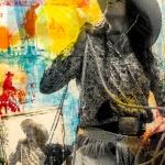 My Kodachrome Girl   60 x 40 in   SOLD