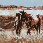 One Fine Day | 40 x 40 in Cowgirl Up! Desert Caballeros Western Museum