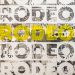 Rodeo Rodeo Yellow | 30 x 30 in | SOLD