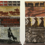 Rodeo Time | 16 x 30 x 8 in rotational sculpture | SOLD