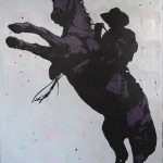 One Trick Pony (40 x 30 in)   SOLD