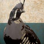 Mountain Quail | 48 x 48 in | Sorrel Sky Gallery, Santa Fe NM - $7,500