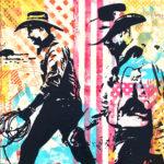 Western Pop | 16 x 16 in | Gallery Mar, Park City UT