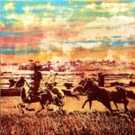 Dreamin' of the Western Sky | 40 x 40 in | Available - Sorrel Sky
