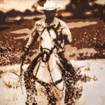 River Waltz | 12x12in Cowgirl Up! Desert Caballeros Western Museum