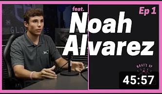 What's Up SCV Podcast Episode 1 w/ Noah Alvarez