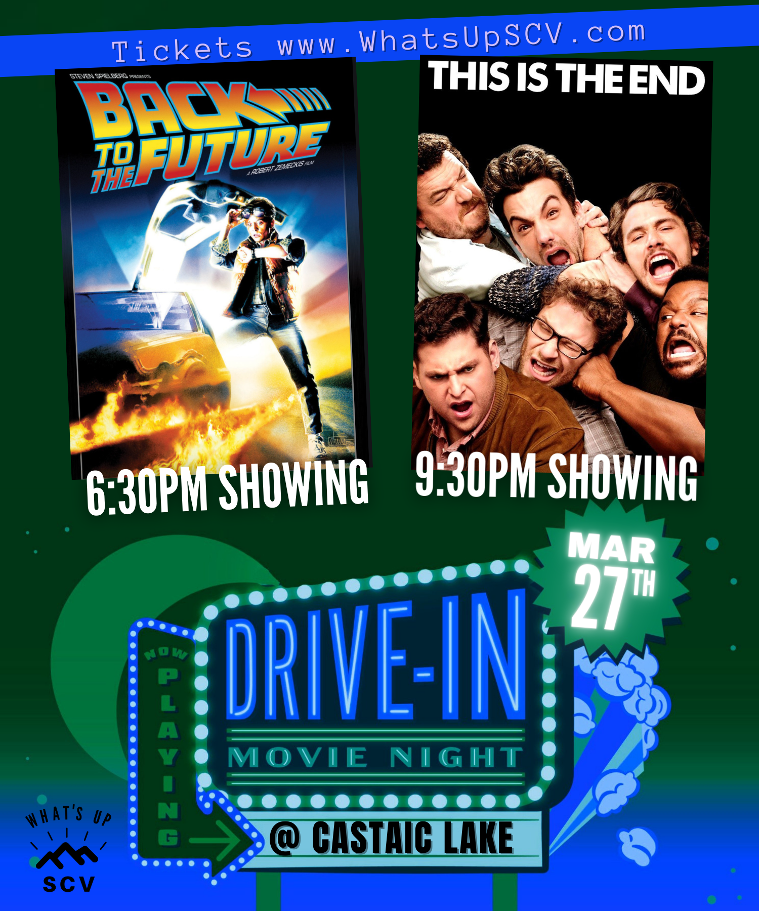 WhatsupSCV Drive in Movie
