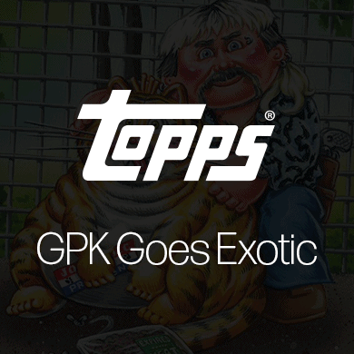 Topps Garbage Pail Kids Goes Exotic on Wax