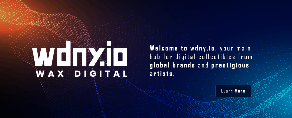wdny.io wax digital trading card and collectible nft