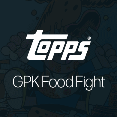 Garbage Pail Kids Food Fight NFTs