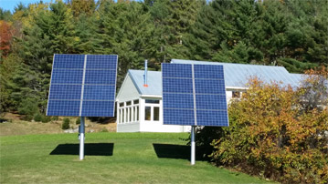 solar panels for Maine home Orono