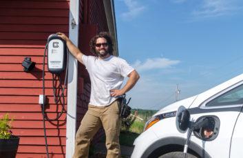 electric vehicle ev charging station maine midcoast