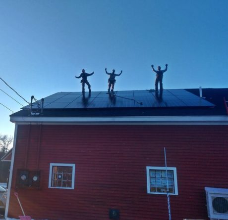 solar panels Searsport