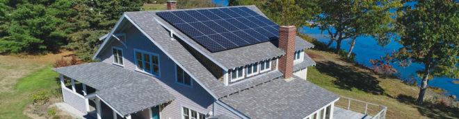 solar panels Maine Bar Harbor