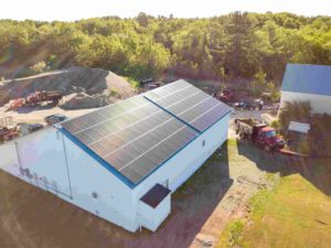 commercial solar installation Maine