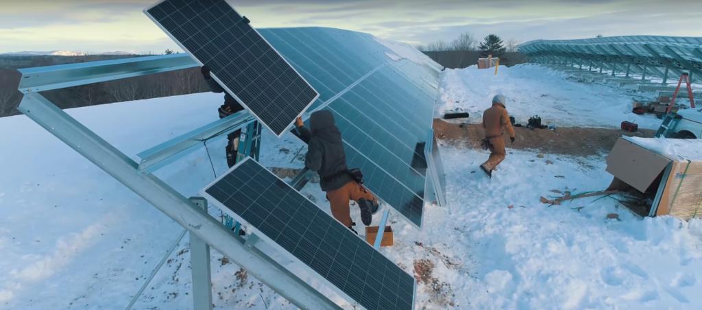 Waldoboro Maine solar