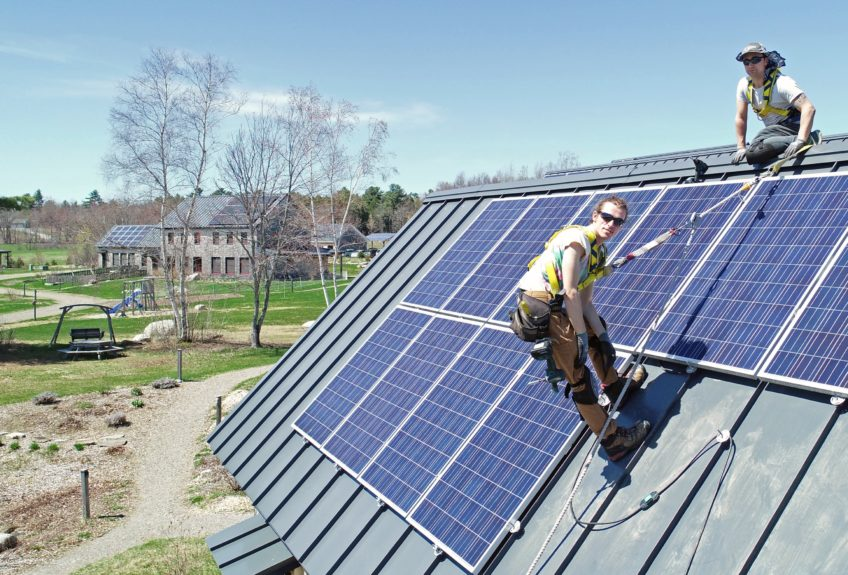 solar panel installation Belfast