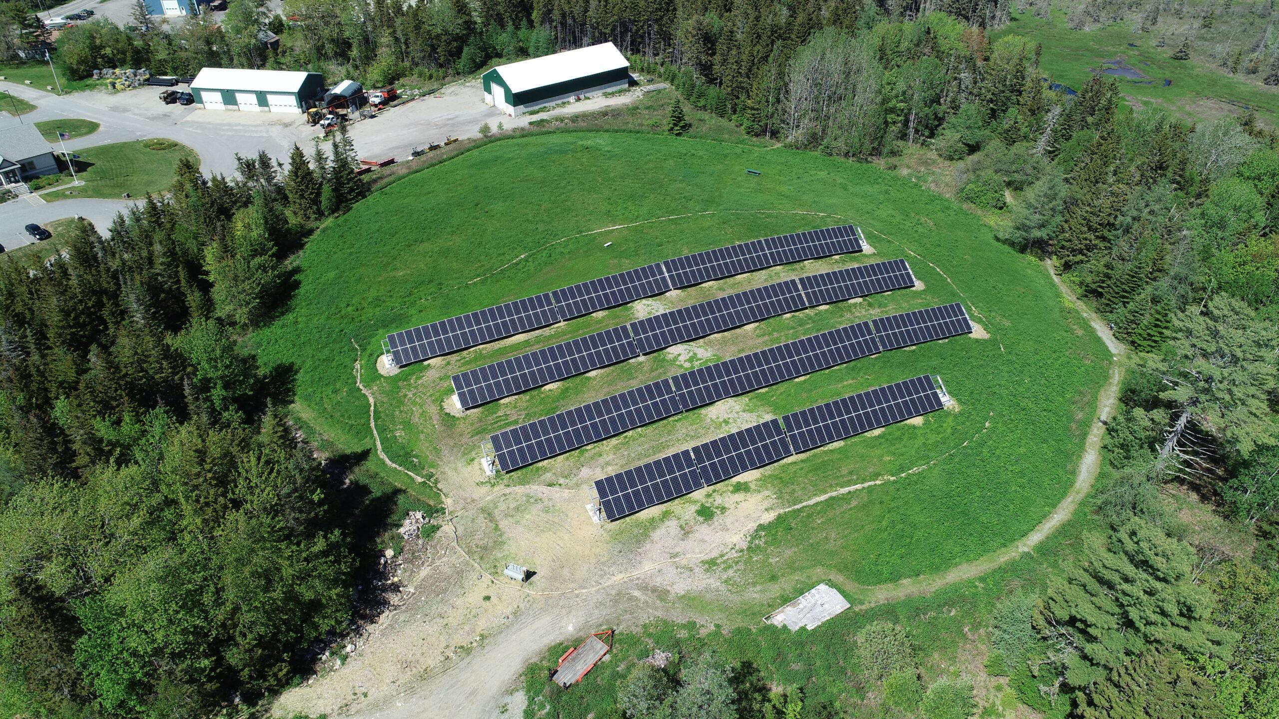 Tremont solar panels maine