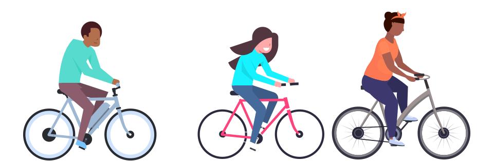 Walk Bike Tampa Bikers