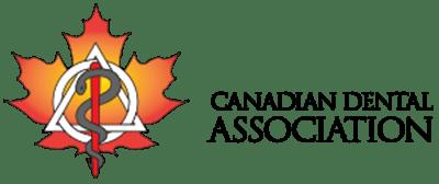 Canadian Dental Association Logo with leaf