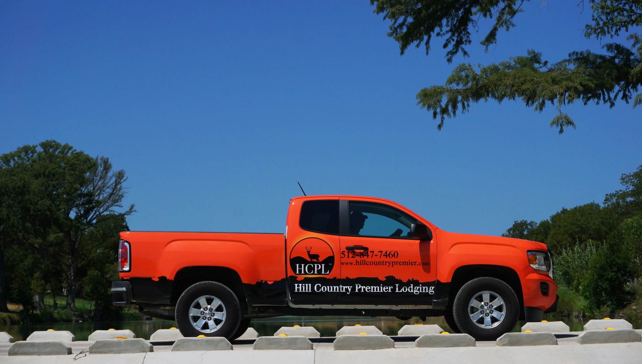 HCPL maintenance trucks are out in the field everyday working on properties