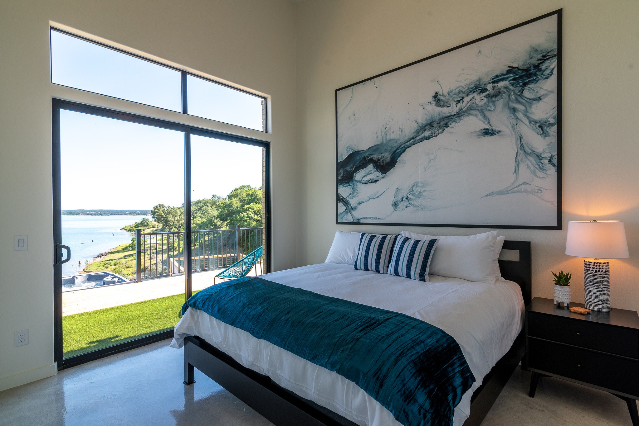 Happy Owl Lakehouse Linens were purchased from our procurement service