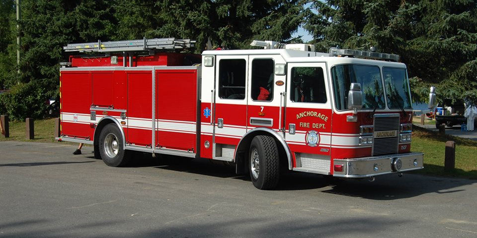 Anchorage Fire Department Truck