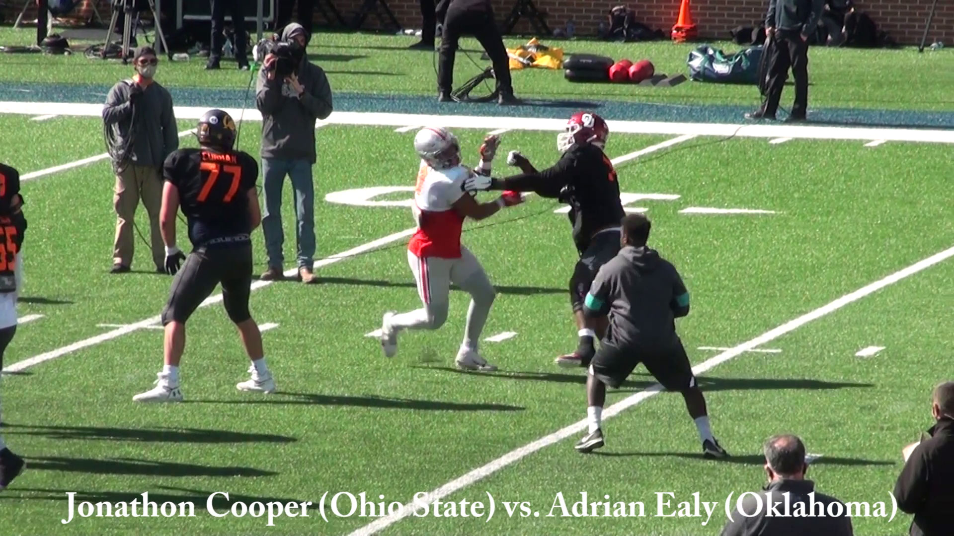 Jonathan Cooper vs. Adrian Ealy