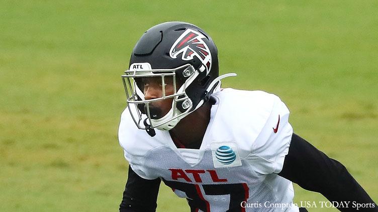 Damontae Kazee Atlanta Falcons