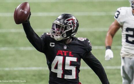 Deion Jones Atlanta Falcons