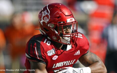 Javian Hawkins Louisville Atlanta Falcons Free Agents