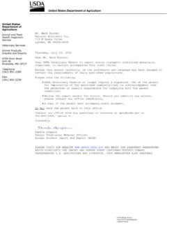 US Import Permit