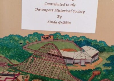 Davenport Historical Society Display Circus World layout e1528221366950