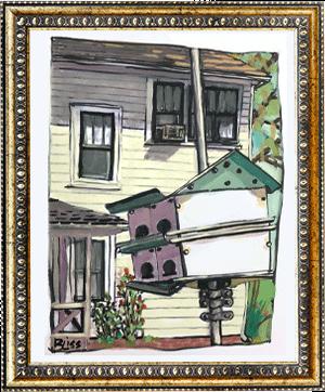 Historic Lemon St. 1 art by Bonnie Liss