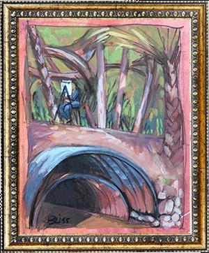 Horse Creek Drain Pipe art by Bonnie Liss