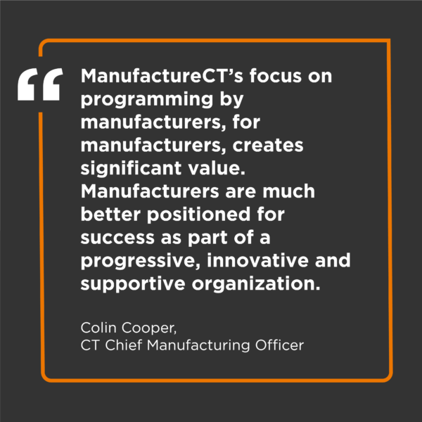 ManufactureCT member quote