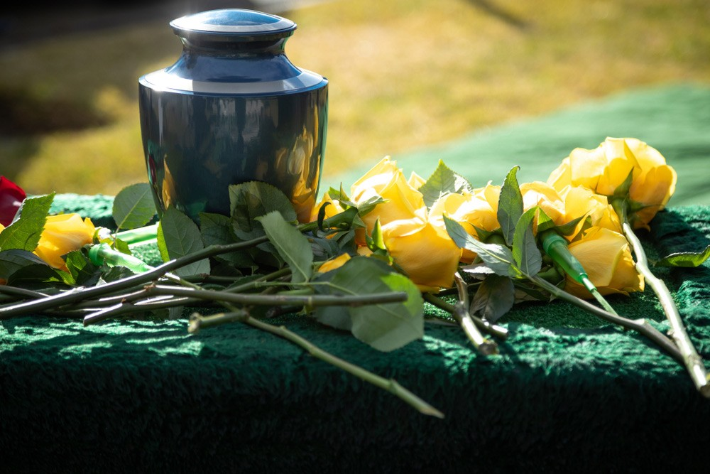A funeral after a family hired our death cleanup in Tampa, FL