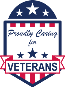 Proudly caring for veterans