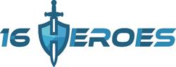 16 Heroes Logo