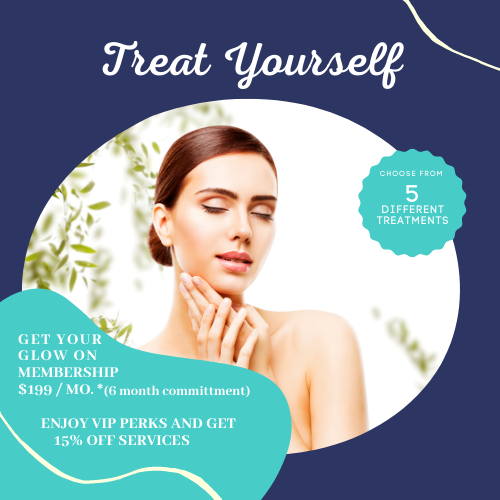 Treat Yourself specials on Glow facial at Style and Beauty by Priscilla