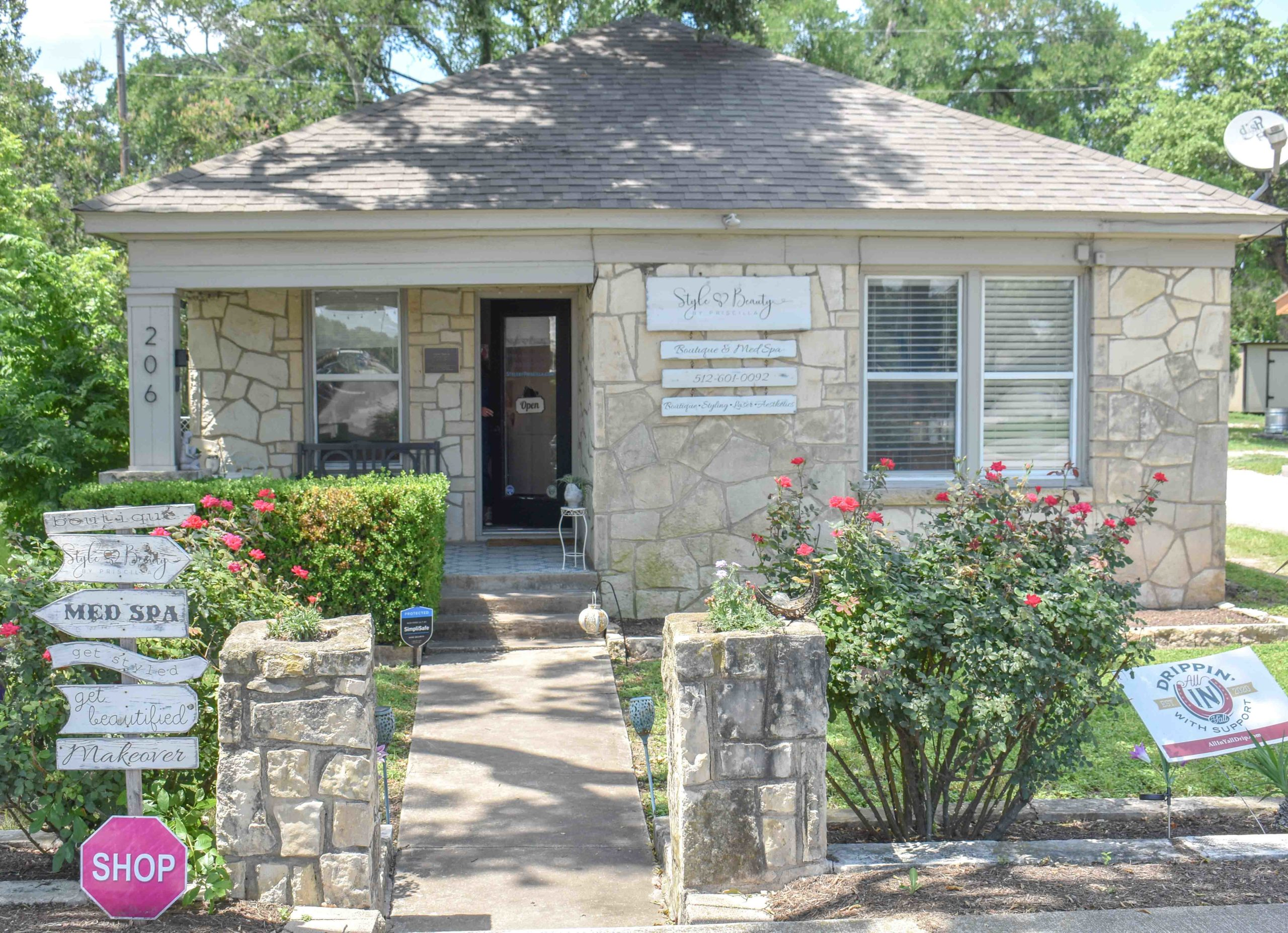 Front of Style and Beauty by Priscilla Medspa in Dripping Springs