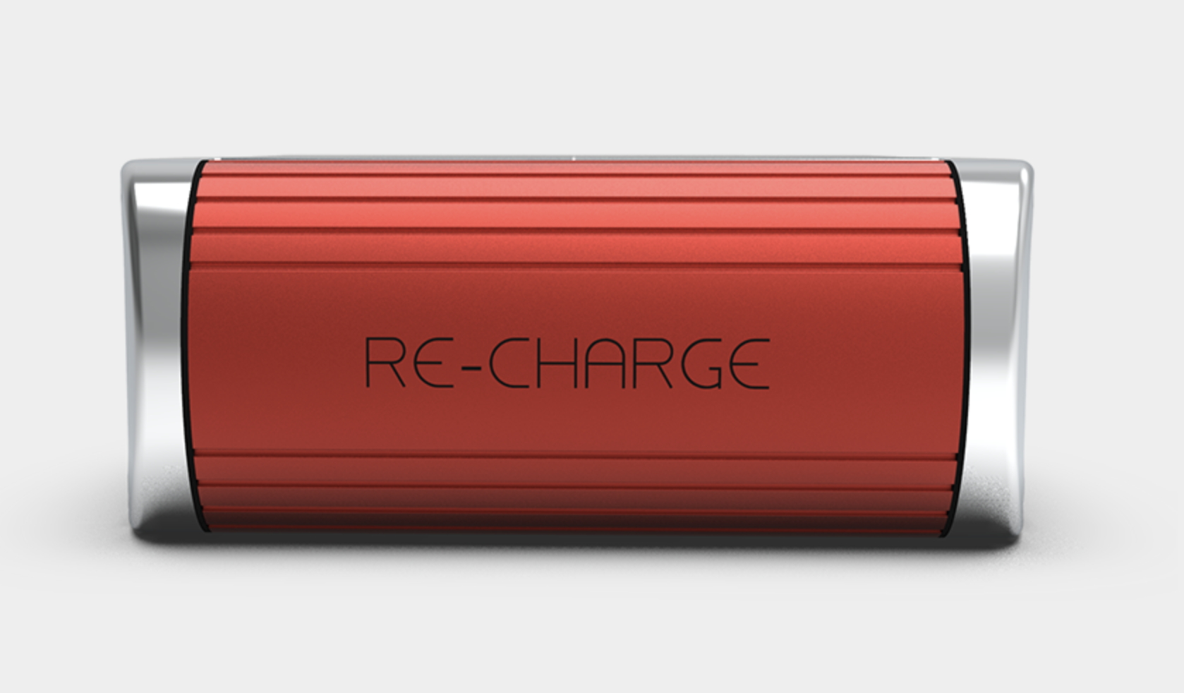 Solar Charger in Red 3