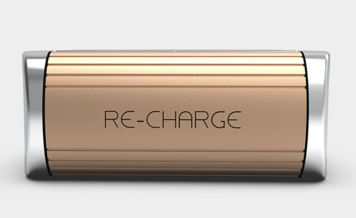 Solar Charger in Rose Gold 2