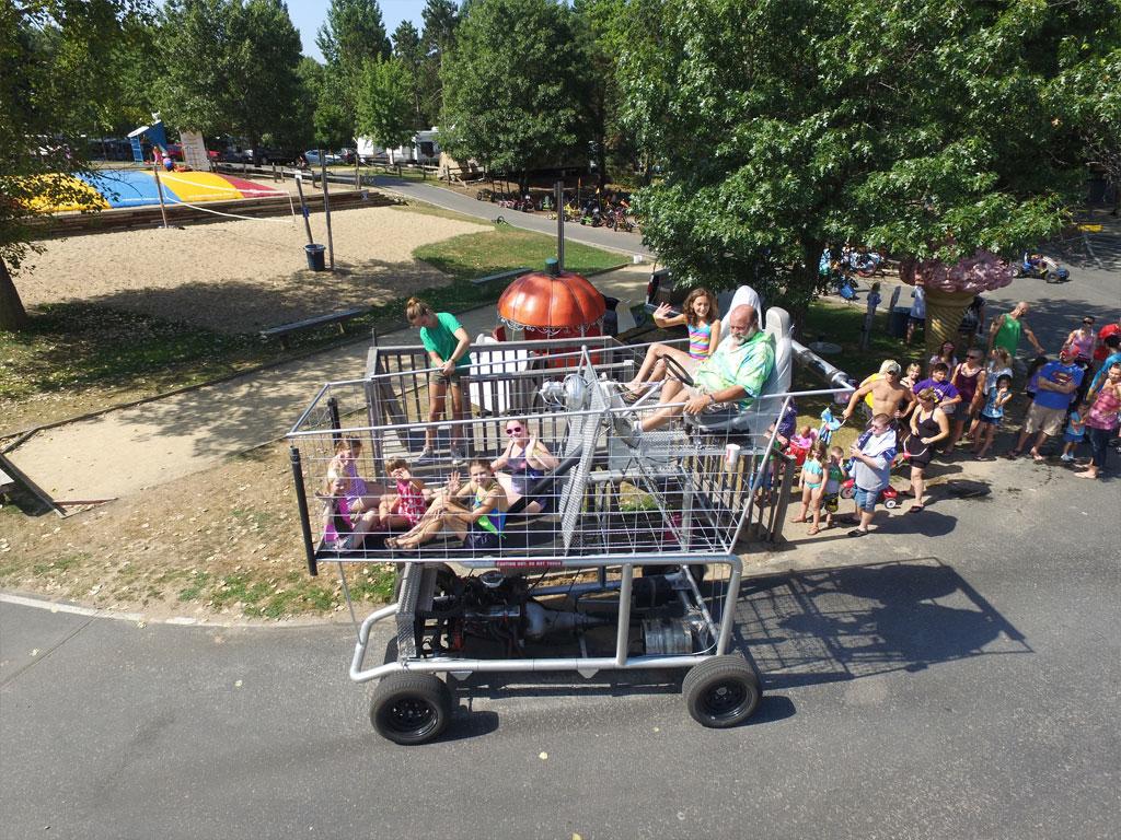 Giant Shopping Cart Ridges