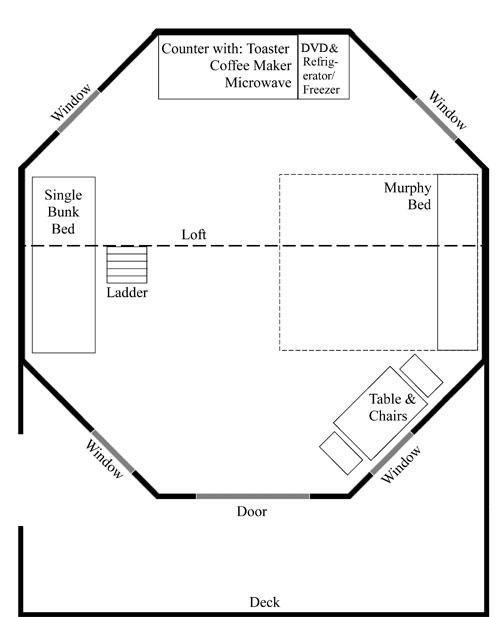 Gazebo floor plan
