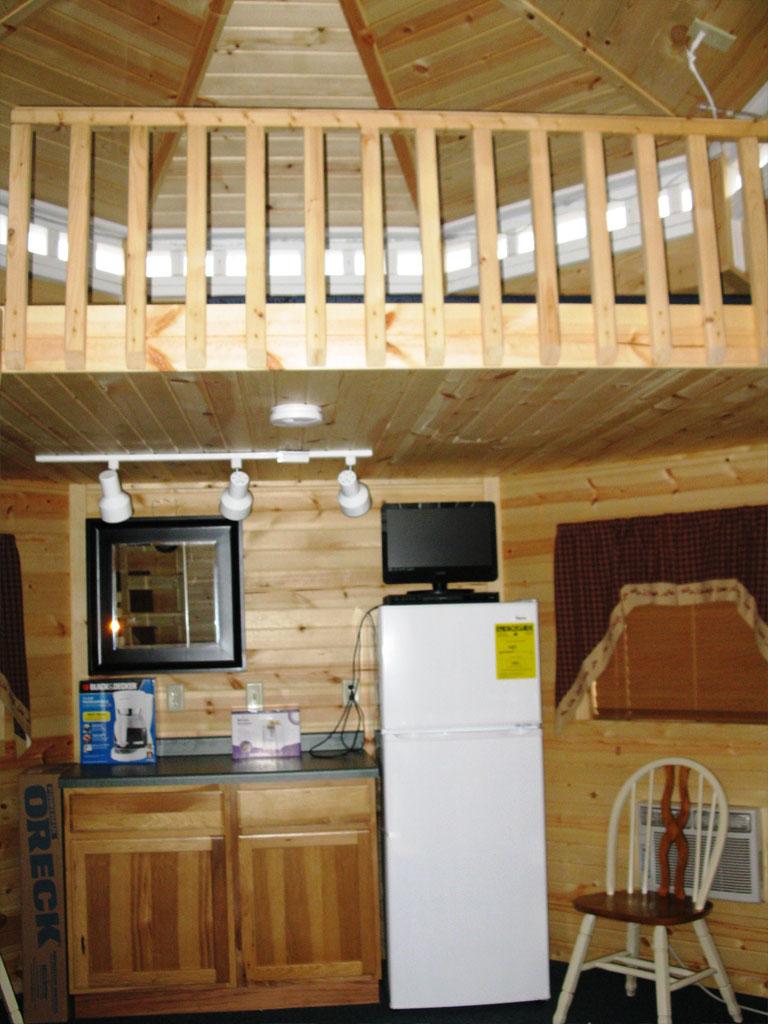 Gazebo Loft and Kitchen