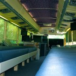 Motor Coach interior bunks