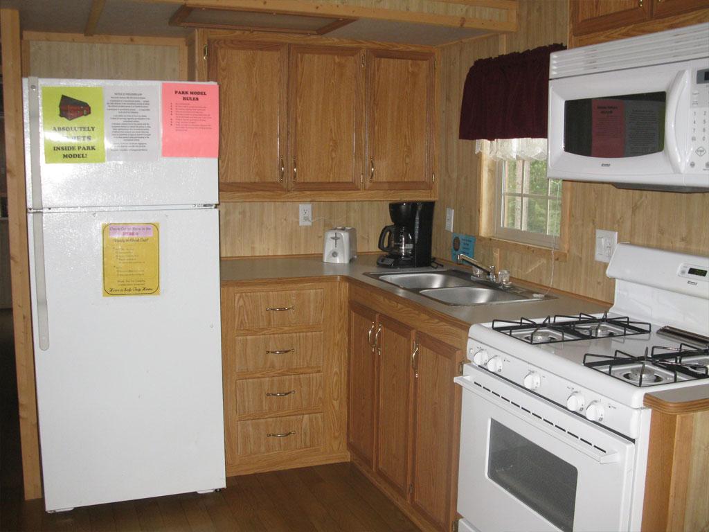 Park Model 1 Kitchen
