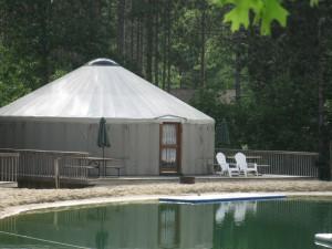 Yurt Exterior